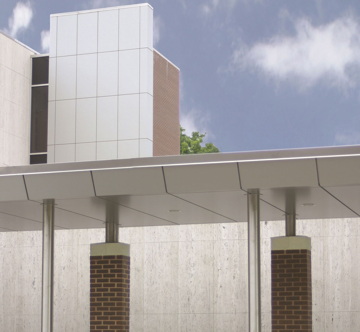 Alucobond ACM, Madison County Criminal Justice Center, Illinois