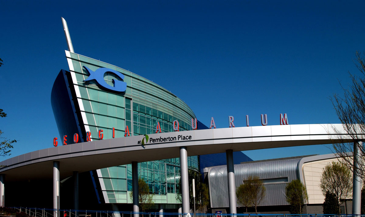 Alucobond ACM, Georgia Aquarium, Atlanta, Georgia