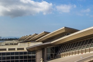 Alucobond ACM, LAX Airport, Fentress Architects, Los Angeles, California, Photo by David Ford