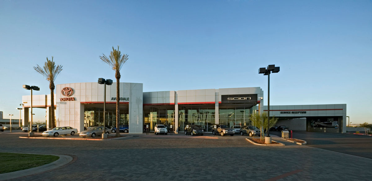 Alucobond, Corporate ID, Avondale Toyota, John Mahoney Architect, Sobotec, 1