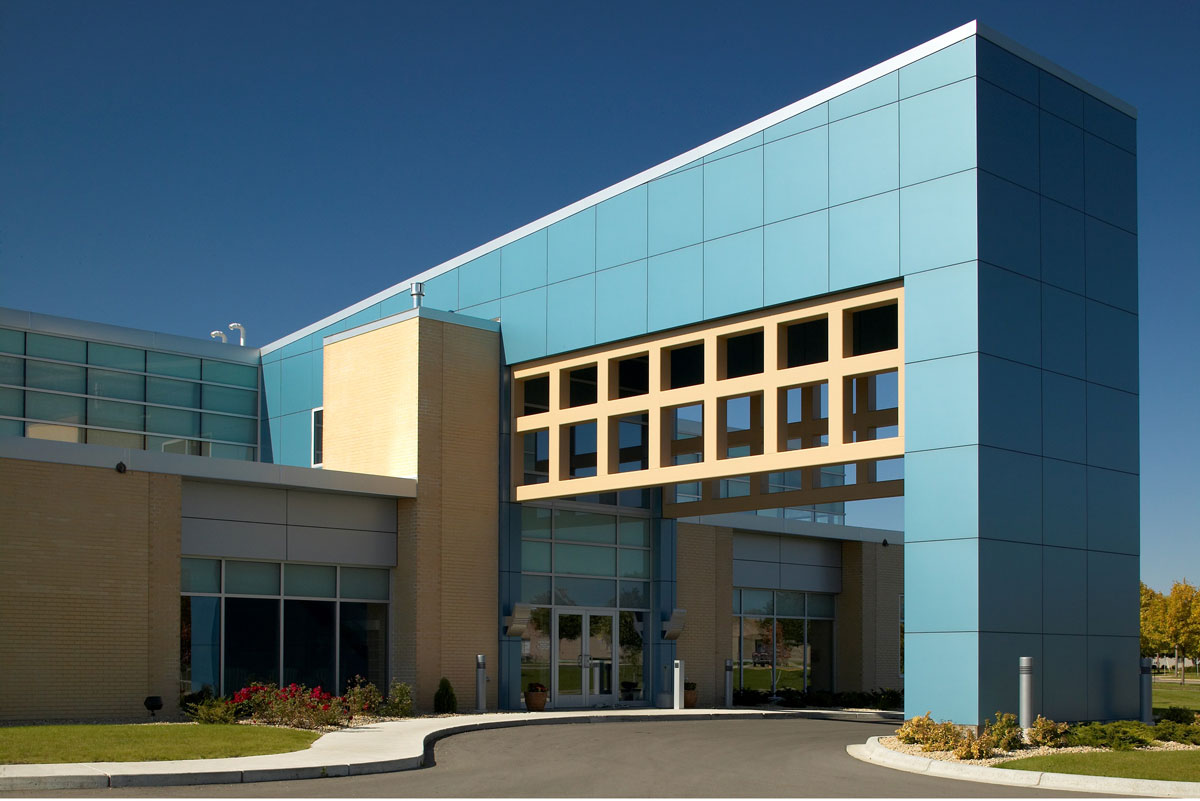 Alucobond, Family Eye and ENT Center, Willmar, Minnesota