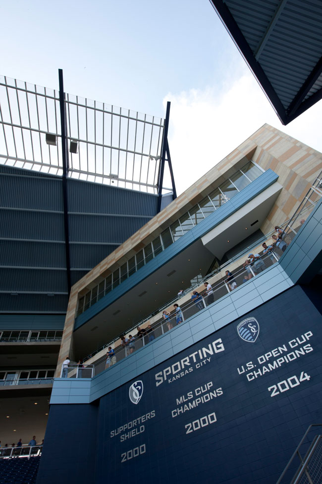Alucobond, Livestrong Sporting Park, Populous, Alistair Tutton Photography