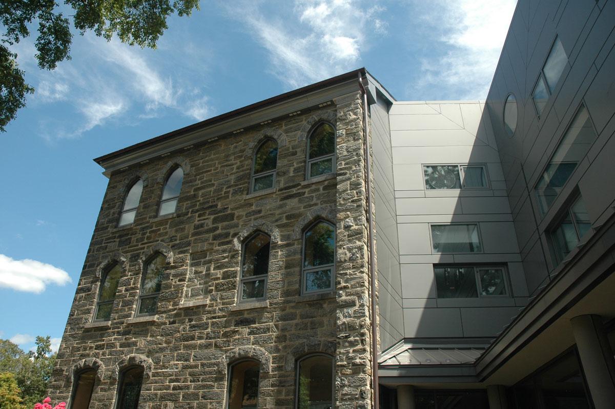 Alucobond, Lutheran Theological Seminary, GYA Architects, Philadelphia
