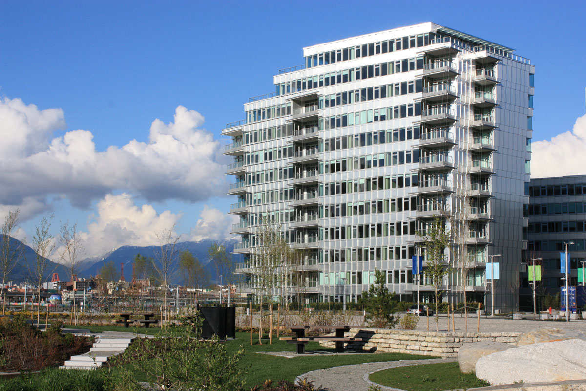 Alucobond NaturAL, Winter Olympic Village, Nick Milkovich Architects, Keith Panel Systems, Photo by Keith Panel Systems