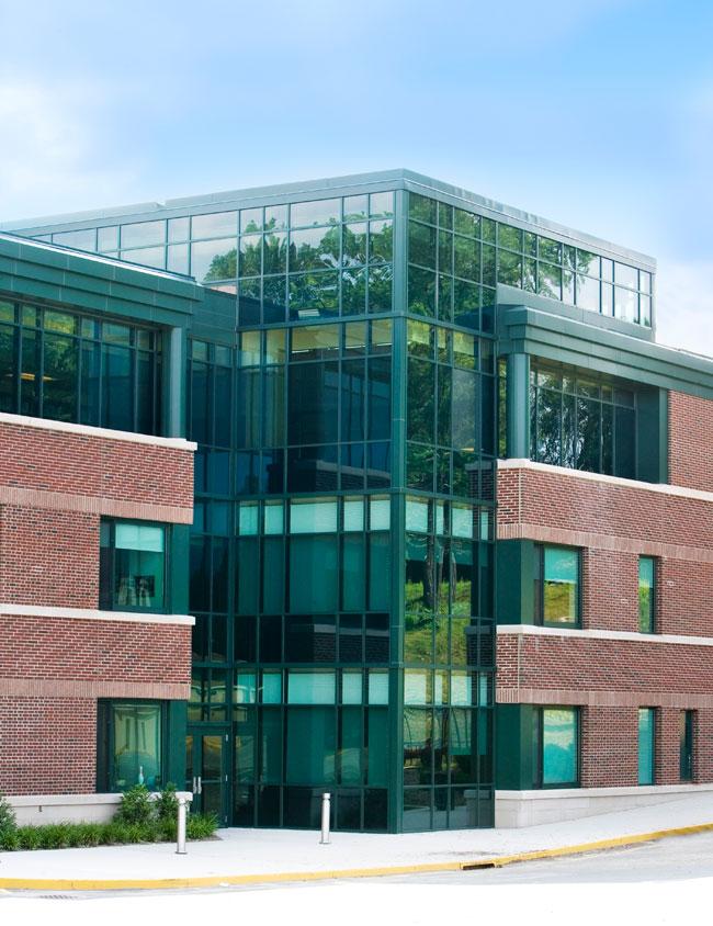 Alucobond Plus, Mamaroneck High School, Geddis Partnership, BAMCO, New York
