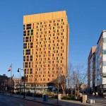 Alucobond Plus, MassArt Residence, ADD, Boston, Photo by Peter Vanderwarker
