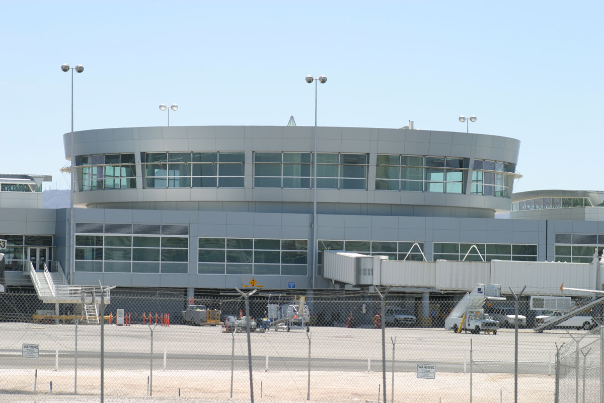Alucobond Plus, McCarran Airport Expansion, Las Vegas, Nevada