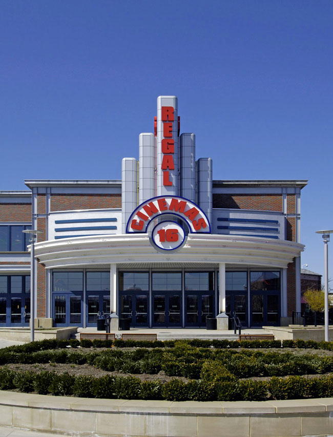 Alucobond, Regal Cinema, Ohio