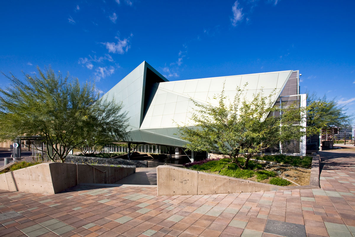 Alucobond Spectra Green, Tempe Transportation Center, Arizona, Otak, Architekton