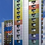 Alucobond Spectra, Paul F. Cullum Tower, Lothrop Associates, North Bergen, New Jersey, Photos by Daniel Lunghi