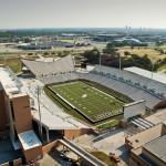 Alucobond, UNT Stadium, HKS, Texas, Photo by Daryl Shields