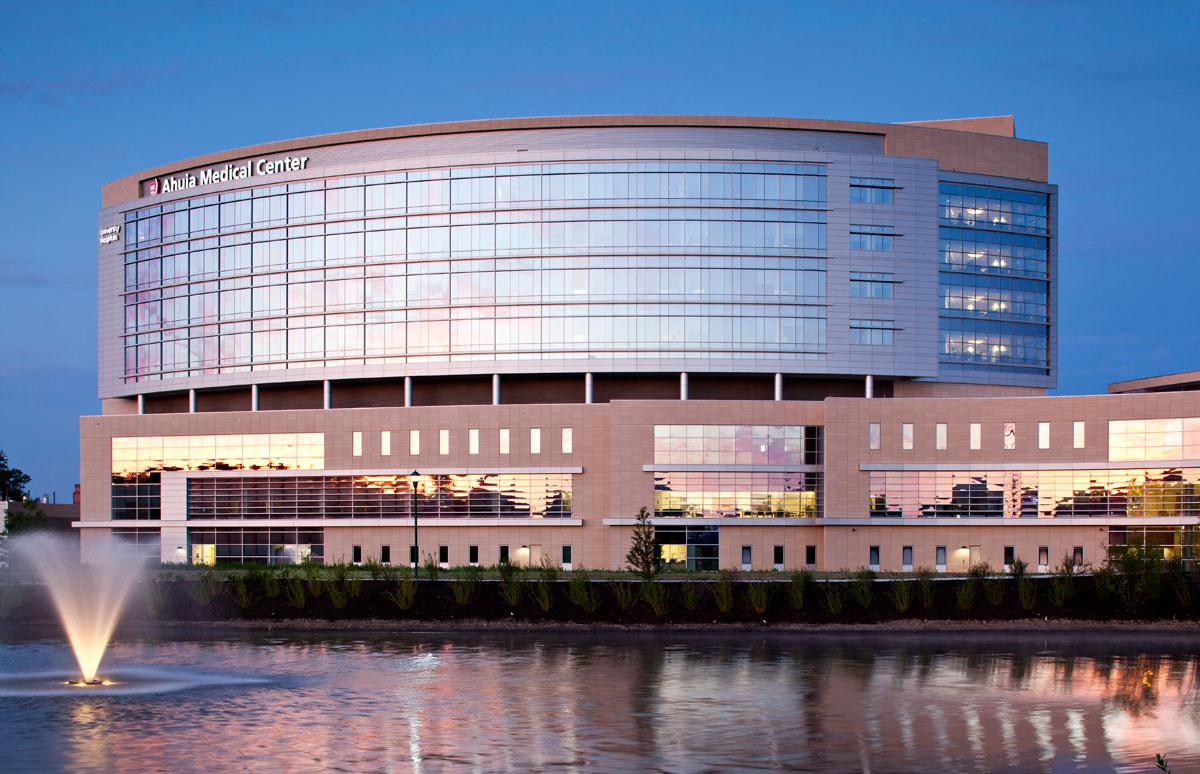 Alucobond, University Hospitals Ahuja Medical Center, HKS, Photo by Black Marvin, Ohio