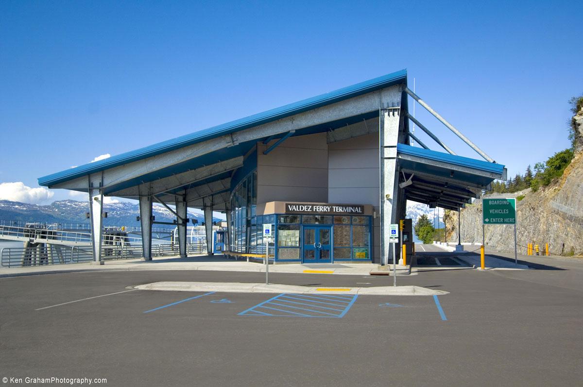 Alucobond, Valdez Ferry Terminal, KPS, Alaska