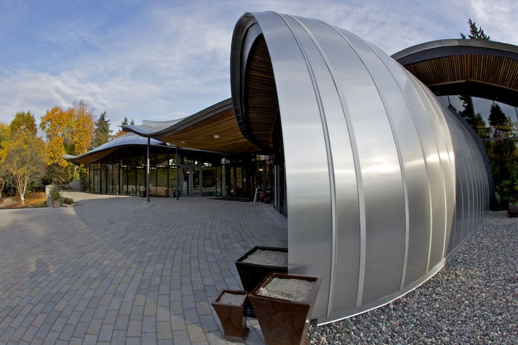 Attractive Alucobond, VanDusen Botanical Garden Visitor Centre, Perkins Will, Raymond  Chan Photomedia Canada,