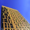 MassArt Residence Hall Designed As Boston Skyline Painting With Custom-Colored Alucobond Plus ACM