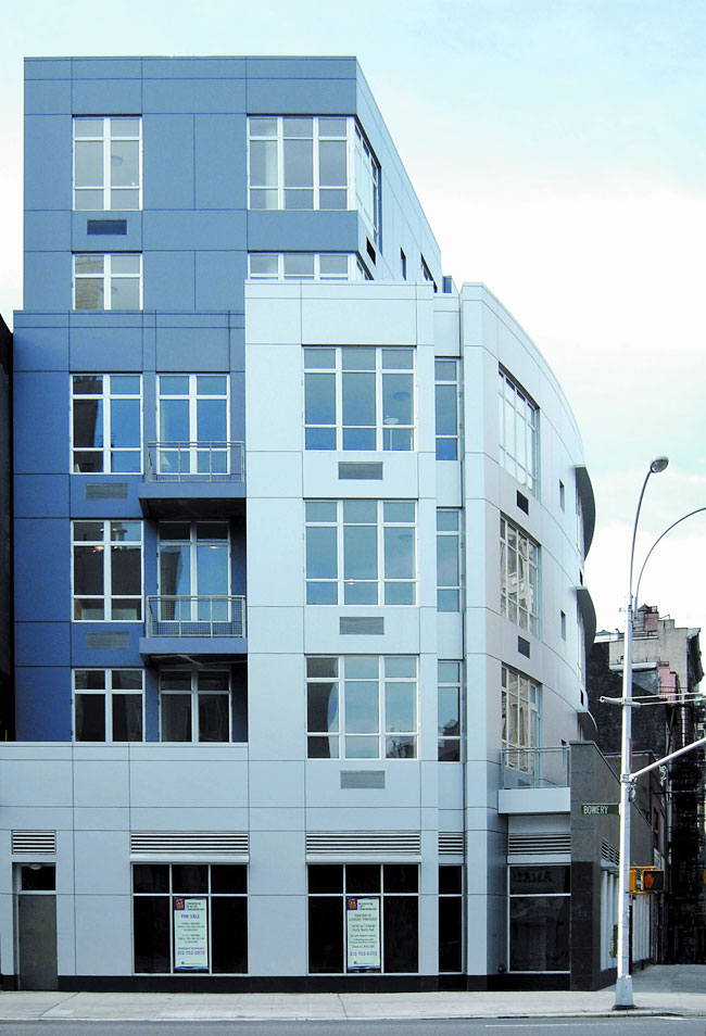 Alucobond Plus, 57 Bond Street