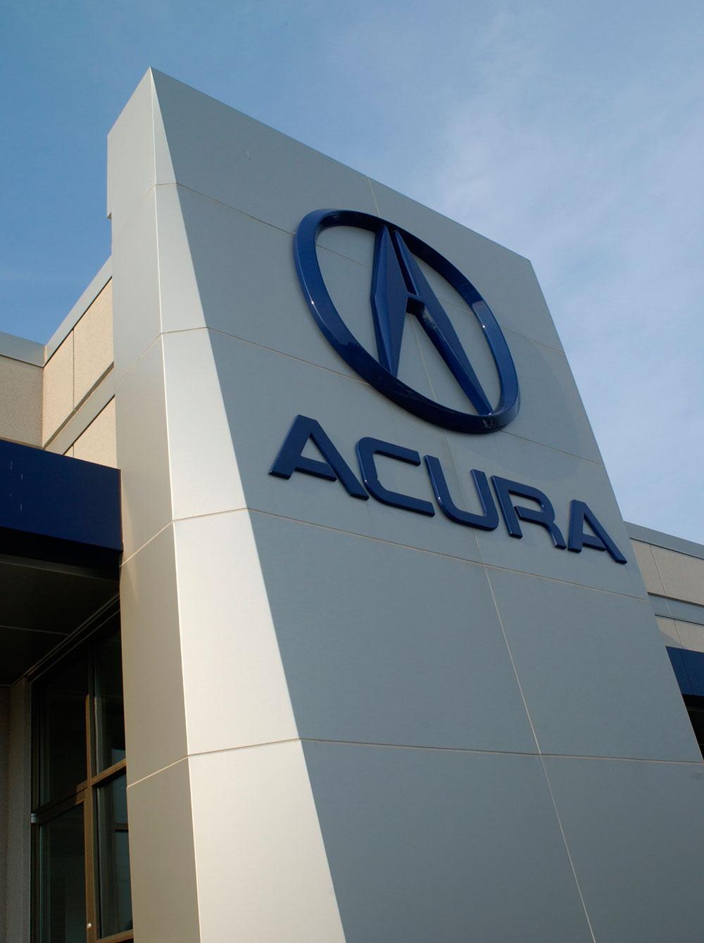 Alucobond, St. Louis Acura, Missouri