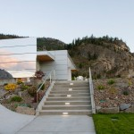 Alucobond ACM, Painted Rock Estate Winery Tasting Room, Photo by Carey Tarr