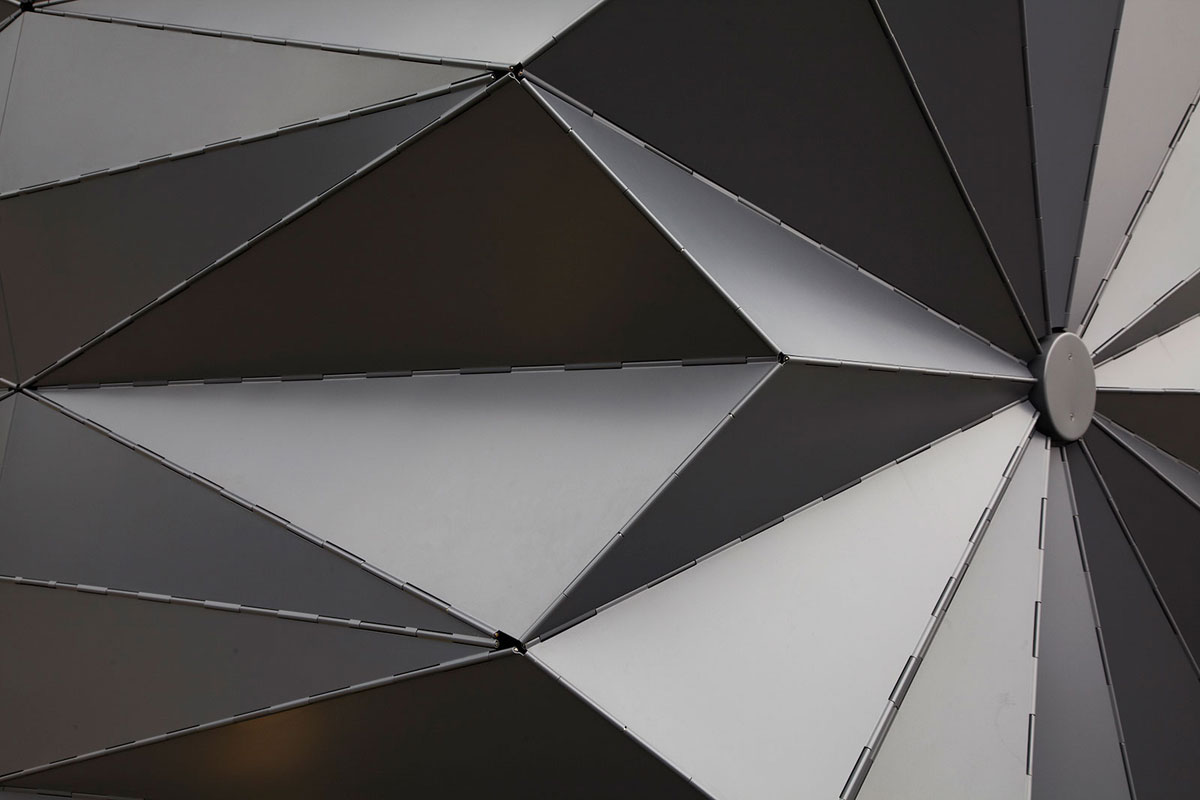 Modular Aluminum Koisks, London, Make Architects