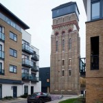 Lambeth Water Tower, act architects, London, UK, Alucobond, Photography by Leigh Osborne