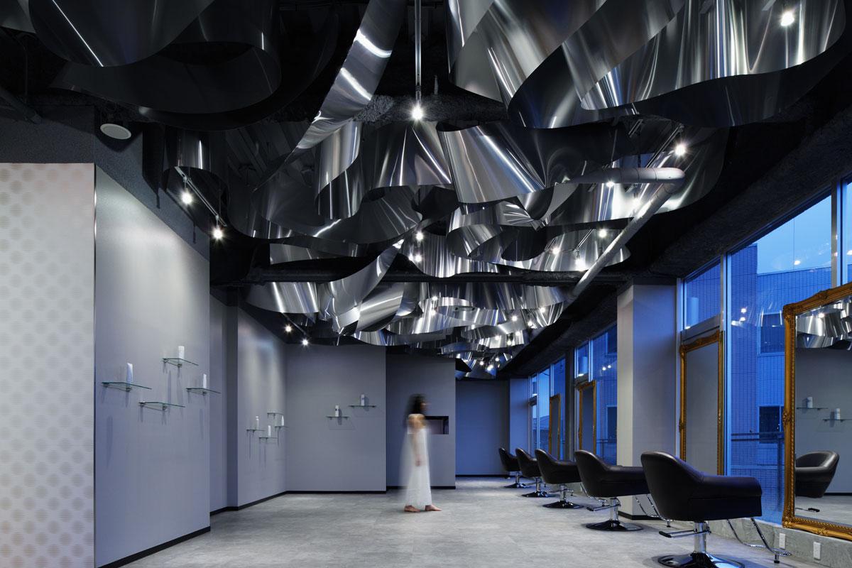 ARKHE Beauty Salon, Moriyuki Ochiai Architects, Photo by Atsushi Ishida