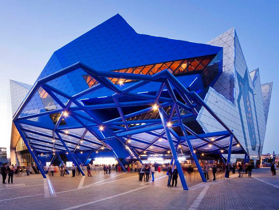 Perth Arena, by ARM Architecture and Cameron Chisholm Nicol CCN