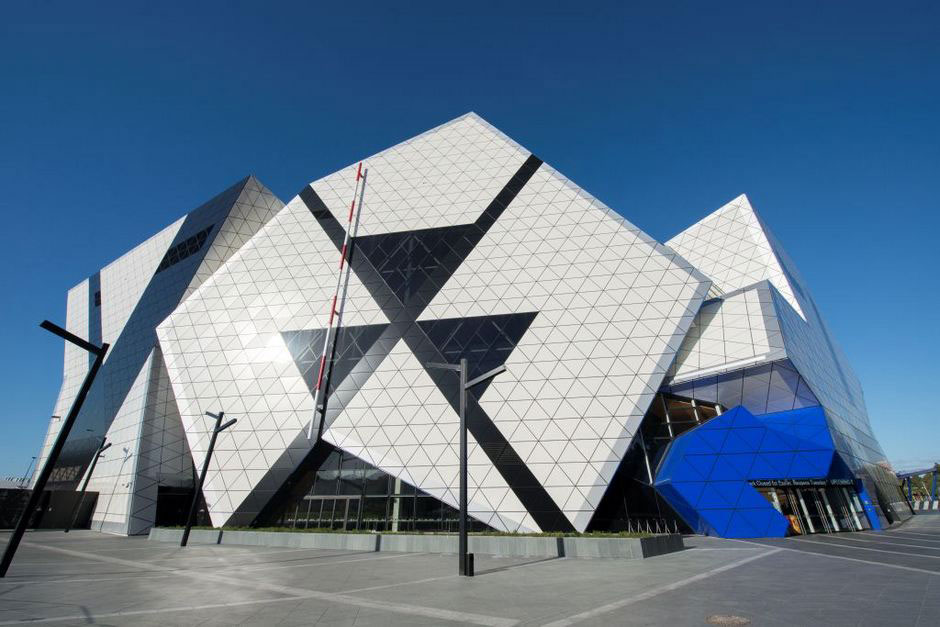 Perth Arena, by ARM Architecture and Cameron Chisholm Nicol CCN, Photo by Carol Darby