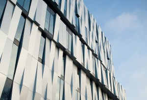 Uppsala Concert and Congress Hall, Henning Larsen Architects, Alucobond Sunrise Silver Metallic, Sweden