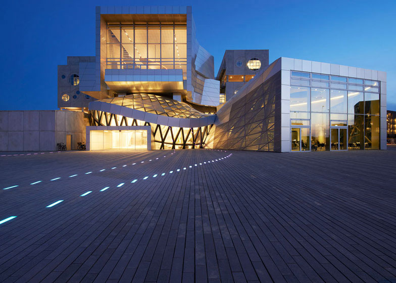 Aalborg House Of Music, Alucobond Plus, NaturAL Brushed, COOP HIMMELBLAU, Photography Martin Schubert