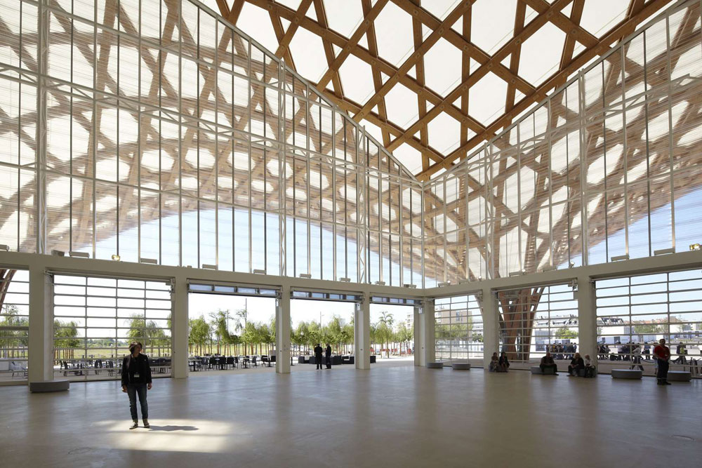 Centre Pompidou-Metz, Shigeru Ban + Jean de Gastines, Alucobond Europe, Aluminum Composite