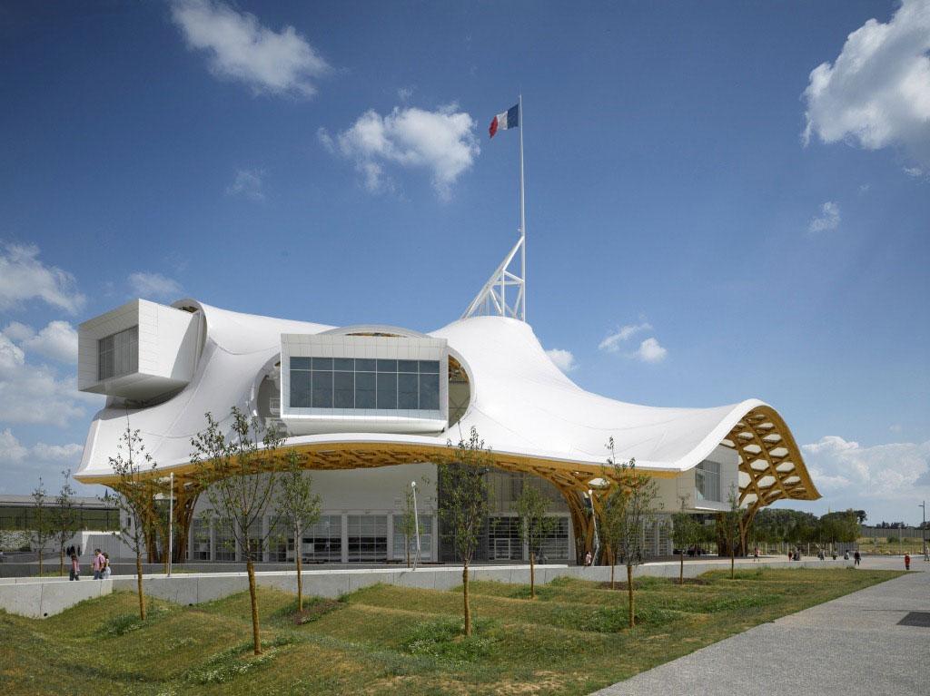 Centre Pompidou-Metz, Shigeru Ban + Jean de Gastines, Alucobond Europe, Aluminum Composite, Rolan Halbe, Artur Images