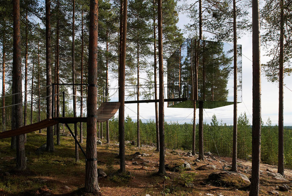 The Tree Hotel, Sweden, Tham & Videgård Arkitekter, Photography by Åke E:son Lindman