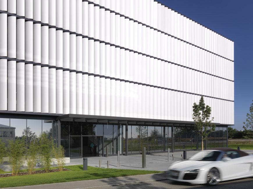 BFFT, Kandler-Bunje Architects, Germany, Alucobond Silver Metallic, Richie Muller