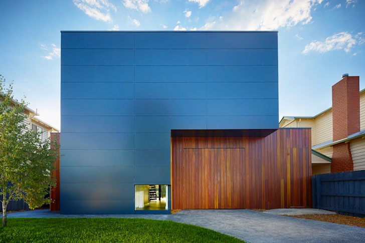 Beautiful Modern Dwelling by Modscape Clad In Alucobond ACM