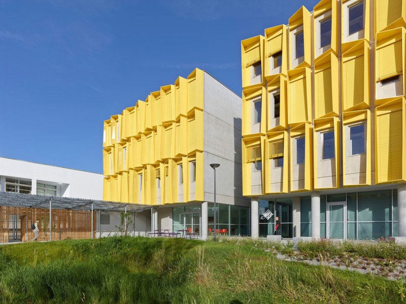 Tetrarc, Hub Creatic, Commercial Building, Nantes, France