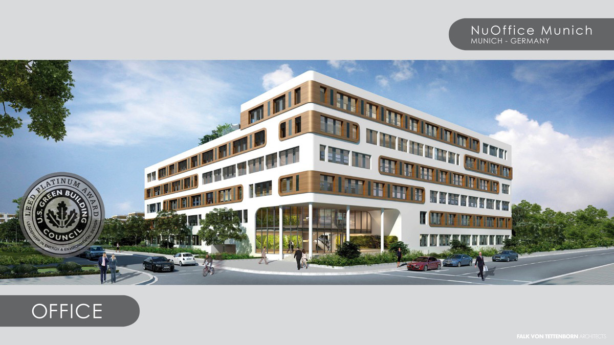 LEED Platinum Commercial Building Sets Energy and Design Standards In Europe