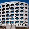 Austrian Hotel Features Bubble Facade With Perforated White Alucobond ACM