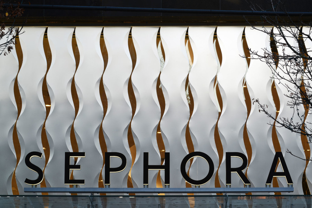 Sephora Retail Store, Canada, Francl Architecture, Keith Panel Systems, Alucobond NaturAL ACM, Daniel Lunghi