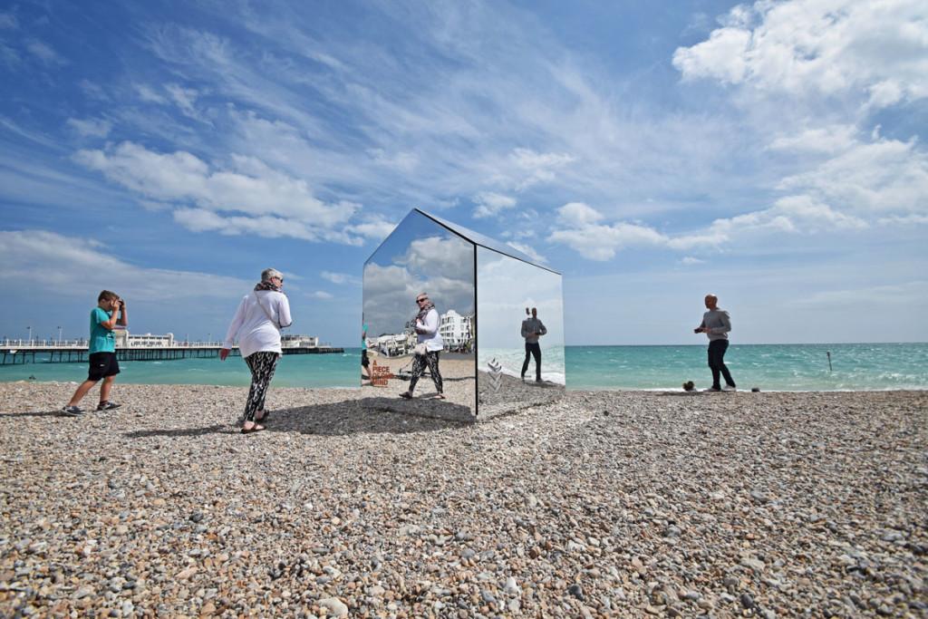Mirror Clad Cabin, ECE Architecture, Creative Forager, Dezeen, Photography Mark Sephton