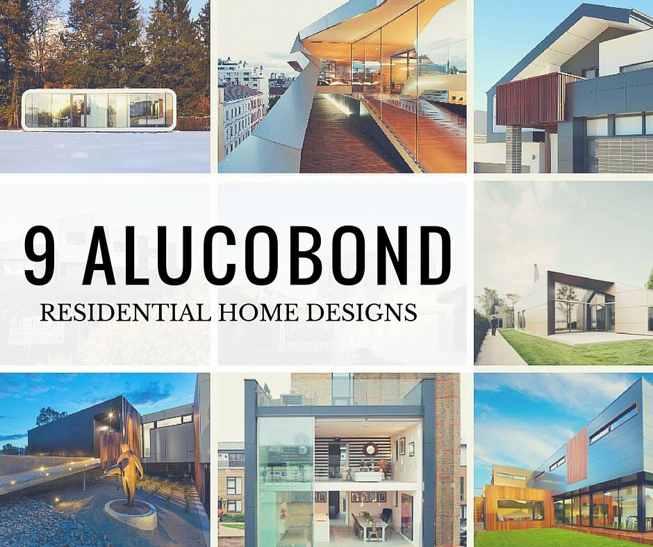Alucobond, Residential, Design