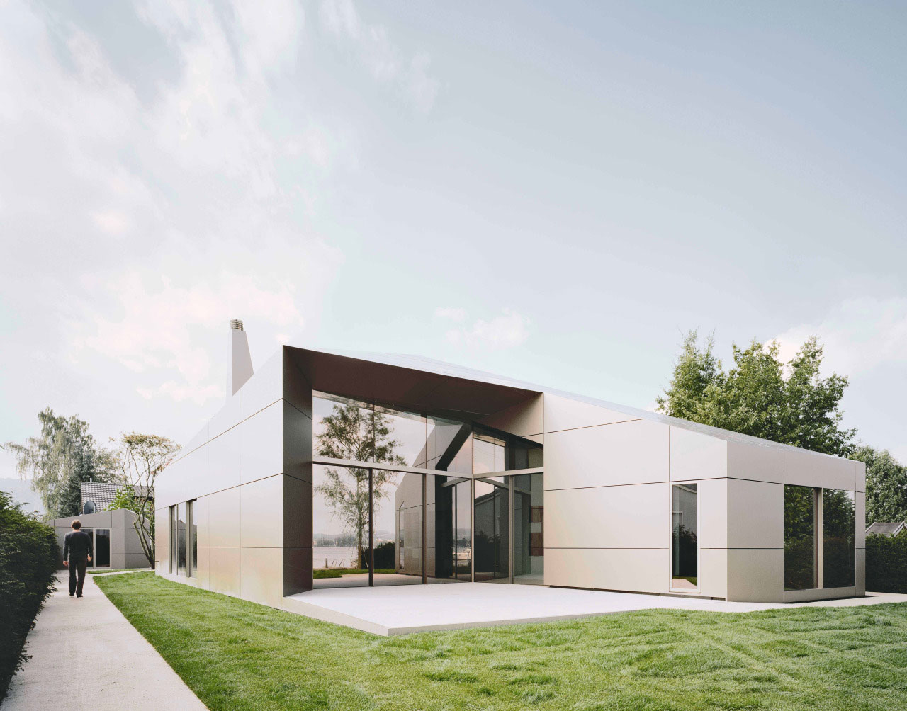 Villa, Moos, Biehler, Weith, Associated, Alucobond, Plus, Anodized, Lake, Constance, Photography, Brigida, Gonzalez