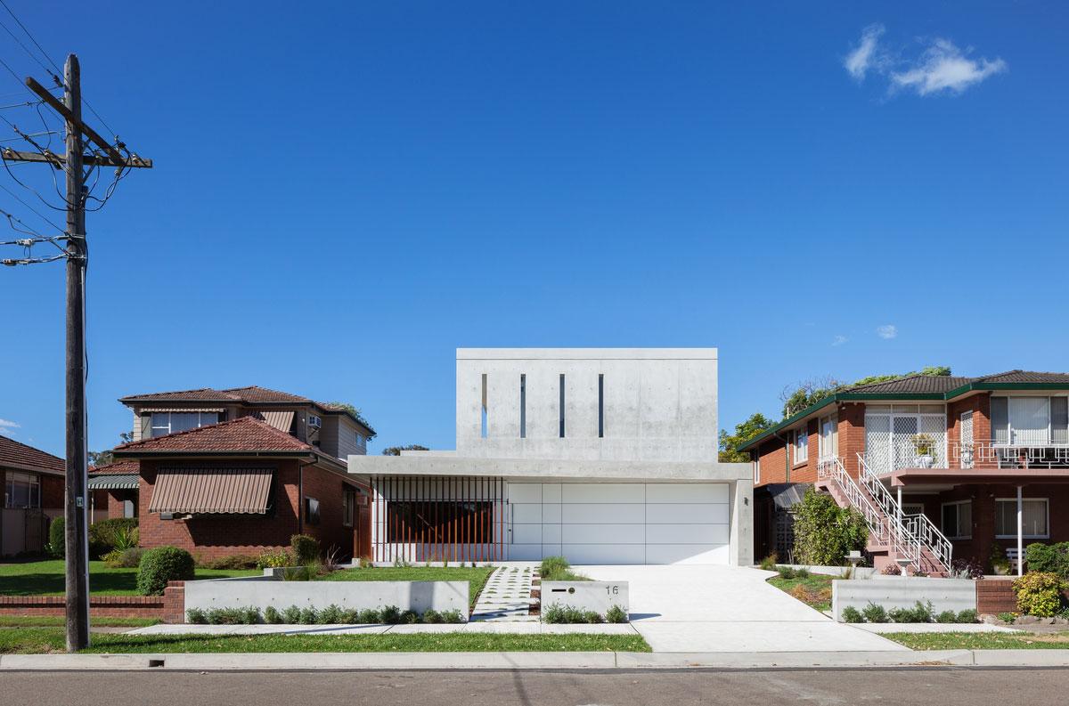 Concord House, Studio Benicio, Residence, Alucobond Aluminum Composite Material