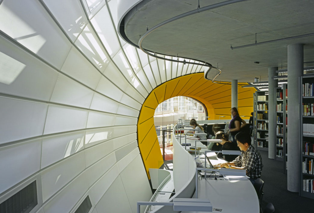 Free, Universitys, Philology, Library, Foster, and, Partners, Berlin, Germany, Photography, Reinhard, Gorner