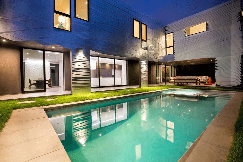 Wave House, Architect Mario Romano, Venice, Italy, Aluminum Facade, Photography Jason Speth
