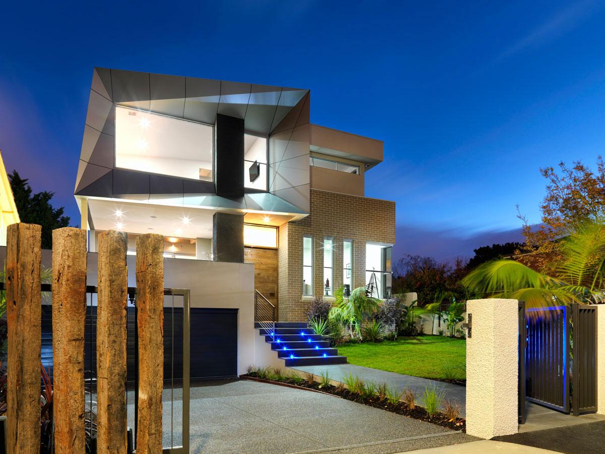 Euston Street Residence, Malvern, Australia, 2bscene Design, Knight Building Group, Alucobond Smoke Silver Metallic, Photography Fabricator Iskandar Construction