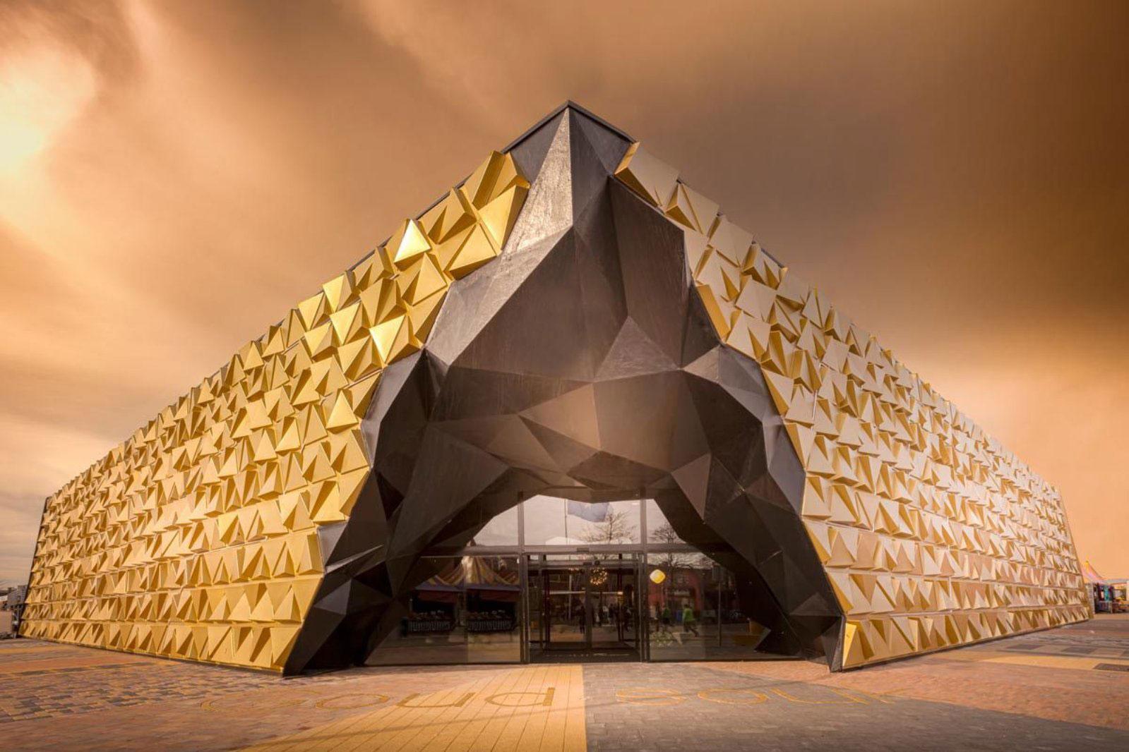 Goud Souk, Gold, Beverwijk, Netherlands, Liong Lie Architects, Leaders Against Routine, Hannah Anthonysz