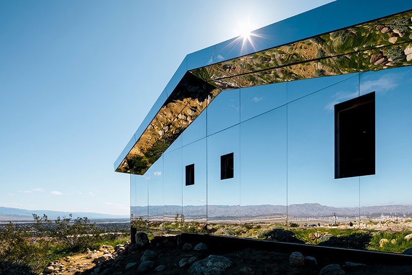 Doug Aitken, MIRAGE, Desert X, California, Art Installation, Photography Lance Gerber