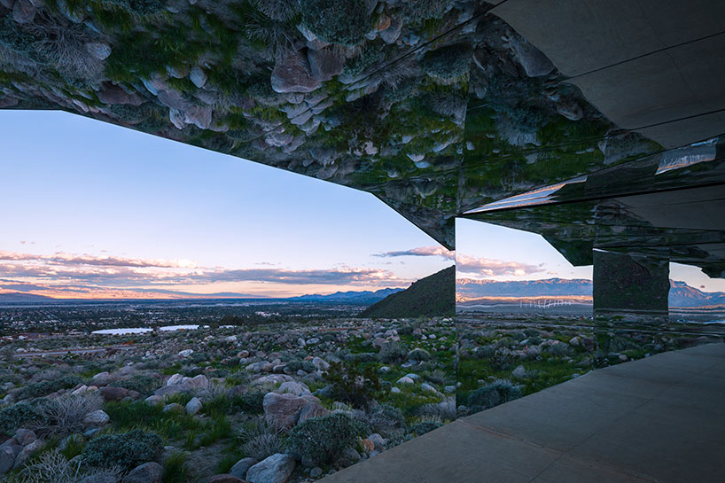Doug Aitken, MIRAGE, Desert X, California, Art Installation, Photography Lance Gerber