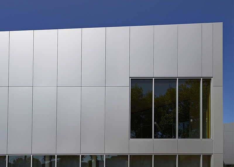 Highlands Branch Library, Schmidt Hammer Lassen, Marshall Tittemore Architects, Alucobond Aluminum Composite, Thermal Systems