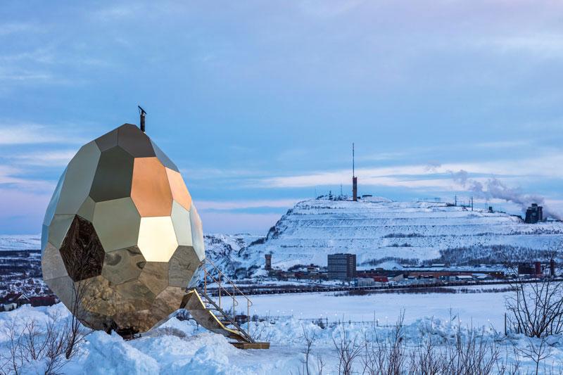 Bigert Bergstrom, Solar Egg, Riksbyggen, Sauna, Art Installation, Sweden, Jean Baptiste Beranger